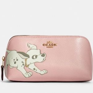 Disney x Coach Cosmetic Case 17 with Dalmatian